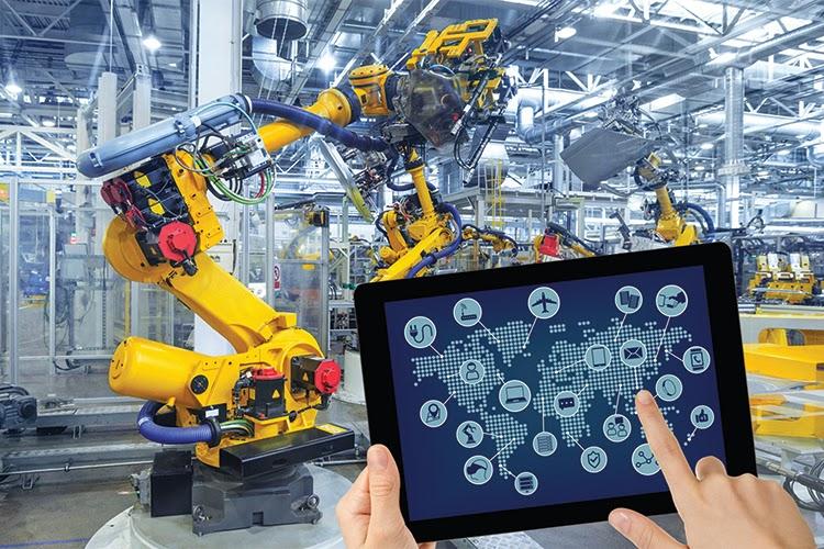 Nhà máy ứng dụng sản xuất thông minh